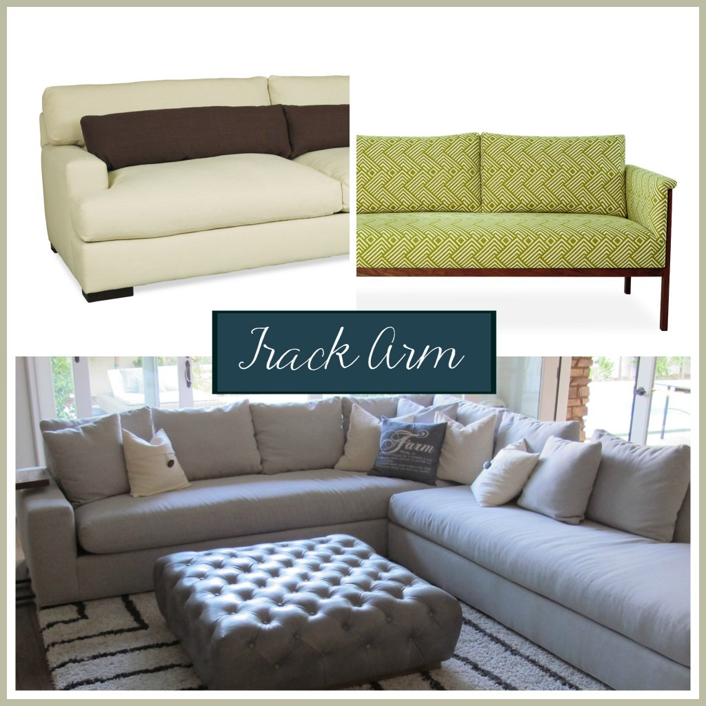 Sofa arm style: The track arm | The Stated Home