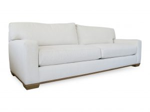 american made straight arm sofa