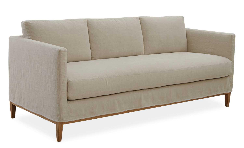 palm springs narrow sofa seat