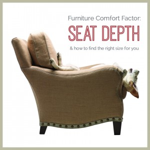 Furniture Comfort: Seat Depth & how to find the right size for you | The Stated Home