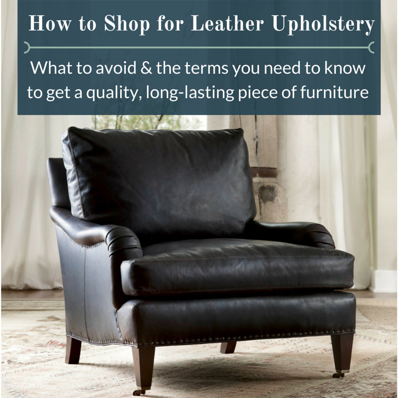 Fine Leather Furniture Buying Guide | The Stated Home