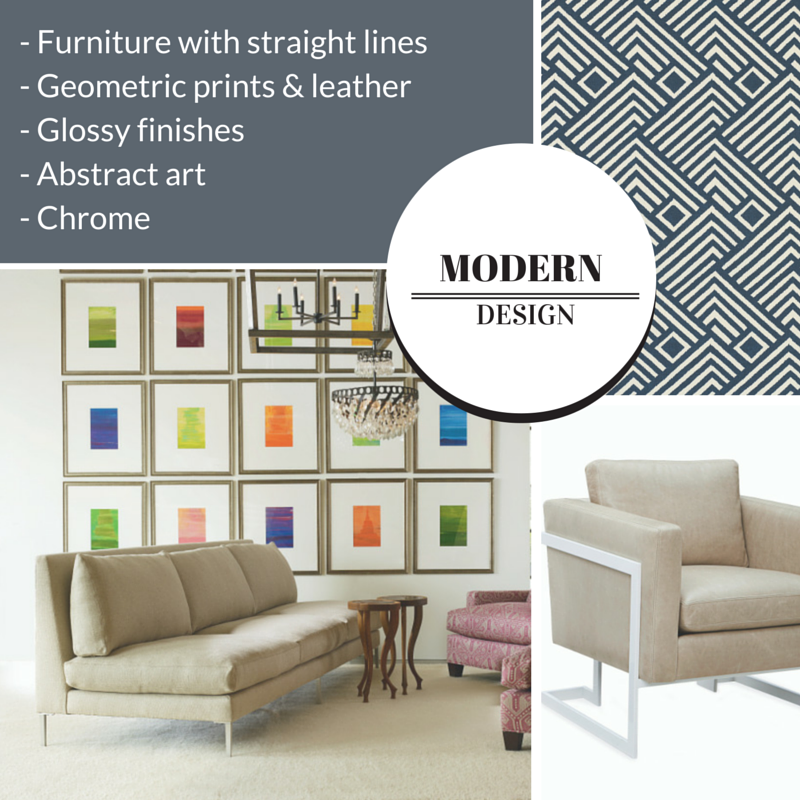 Types of Interior Design Styles: Modern | The Stated Home