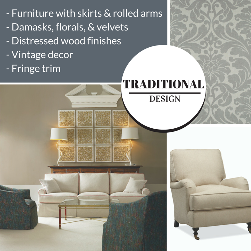 Types of Interior Design Styles: Traditional  | The Stated Home