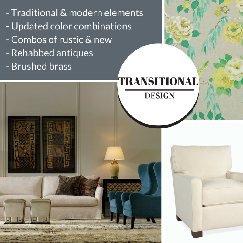 Types of Interior Design Styles: Transitional | The Stated Home