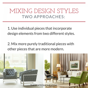 Transitional Style: The Two Approaches| The Stated Home