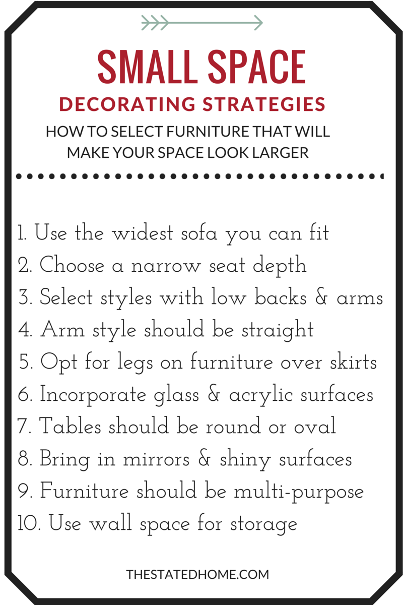 Top 10 Interior Design Rules for Small Spaces  | The Stated Home