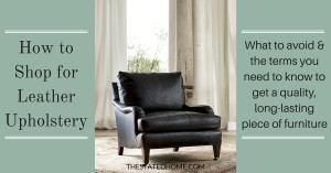 Fine Leather Furniture Buying Guide   The Stated Home