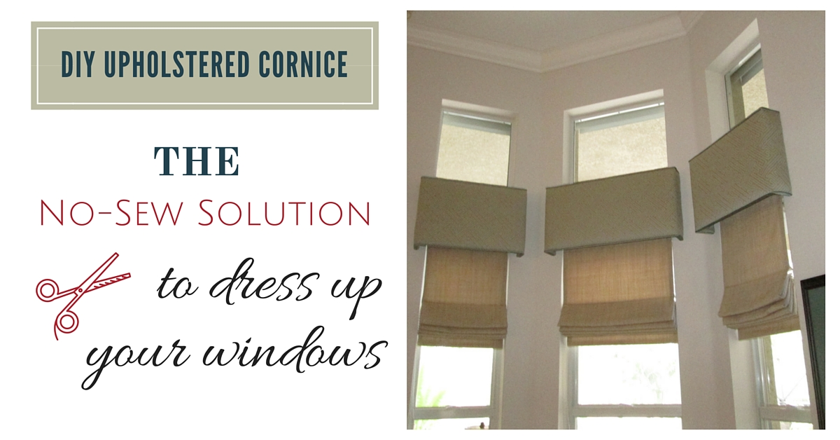 DIY Cornice Project  | The Stated Home