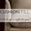 Cushion Fill: Which one is right for you? | The Stated Home