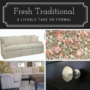 Transitional Decorating Style: Fresh Traditional