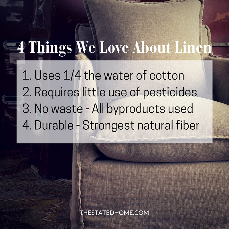 What is Linen Fabric and Why Do We Love It | The Stated Home