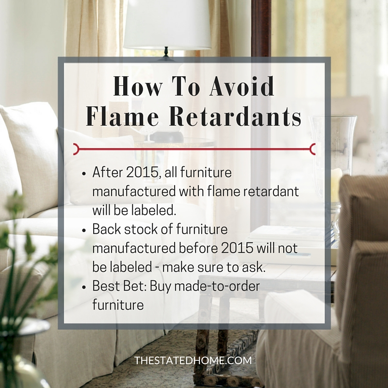 Furniture Without Flame Retardants: What to Know | The Stated Home
