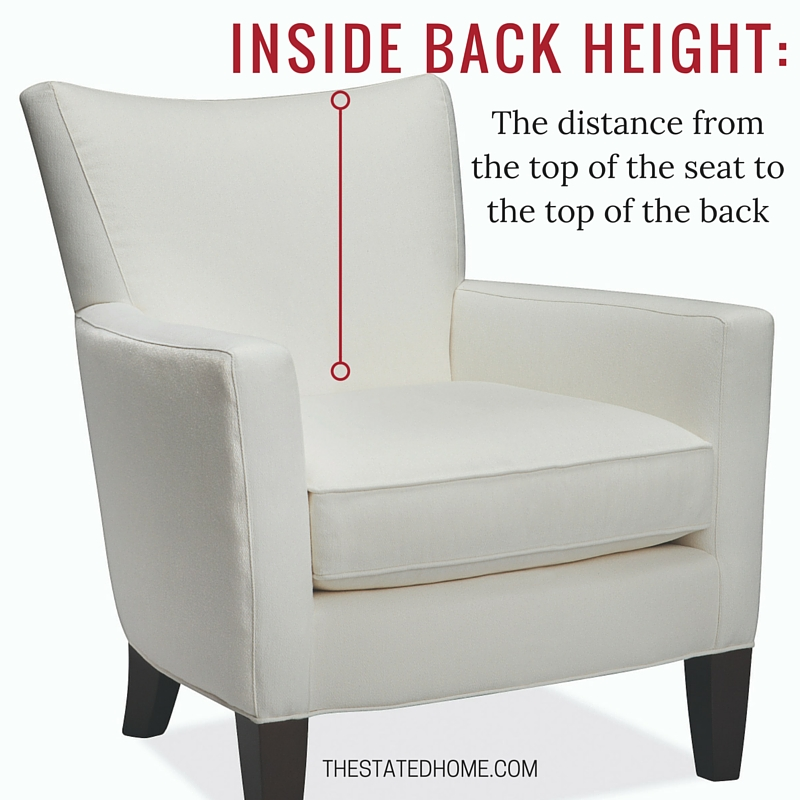 Sofa Seat Height standard sofa height: is it right for you? | the stated home