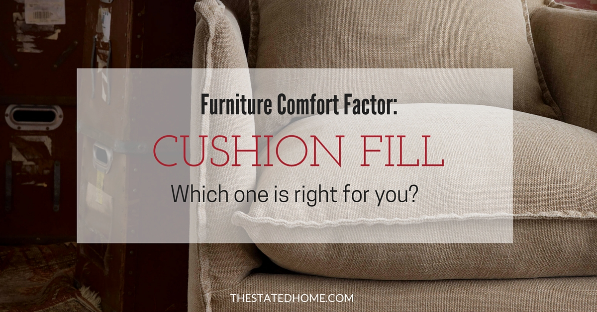 Cushion Fill: Which one is right for you?   The Stated Home