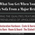 The Truth About Major Retail Furniture Stores | The Stated Home
