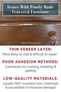 Veneer Wood Furniture: Common Issues | The Stated Home