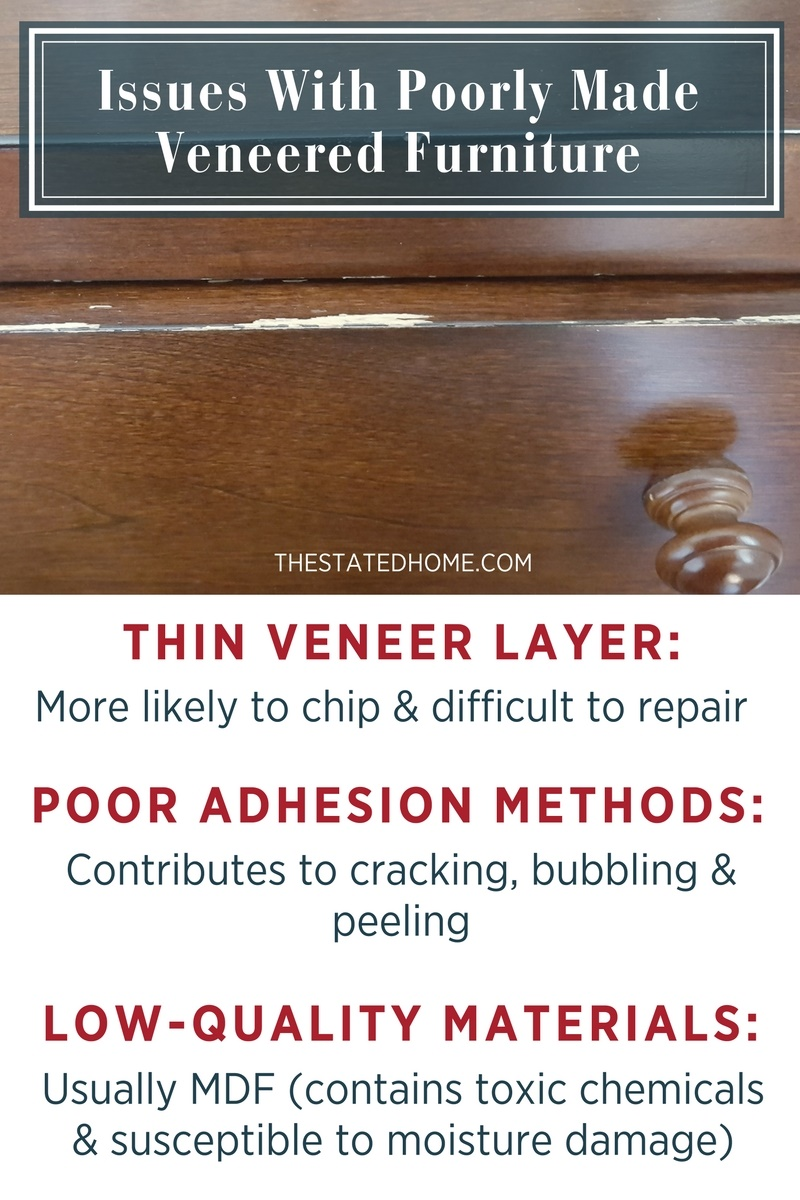 Veneer Wood Furniture: Is It All Bad? | The Stated Home