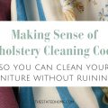 Fabric Codes for Cleaning | The Stated Home
