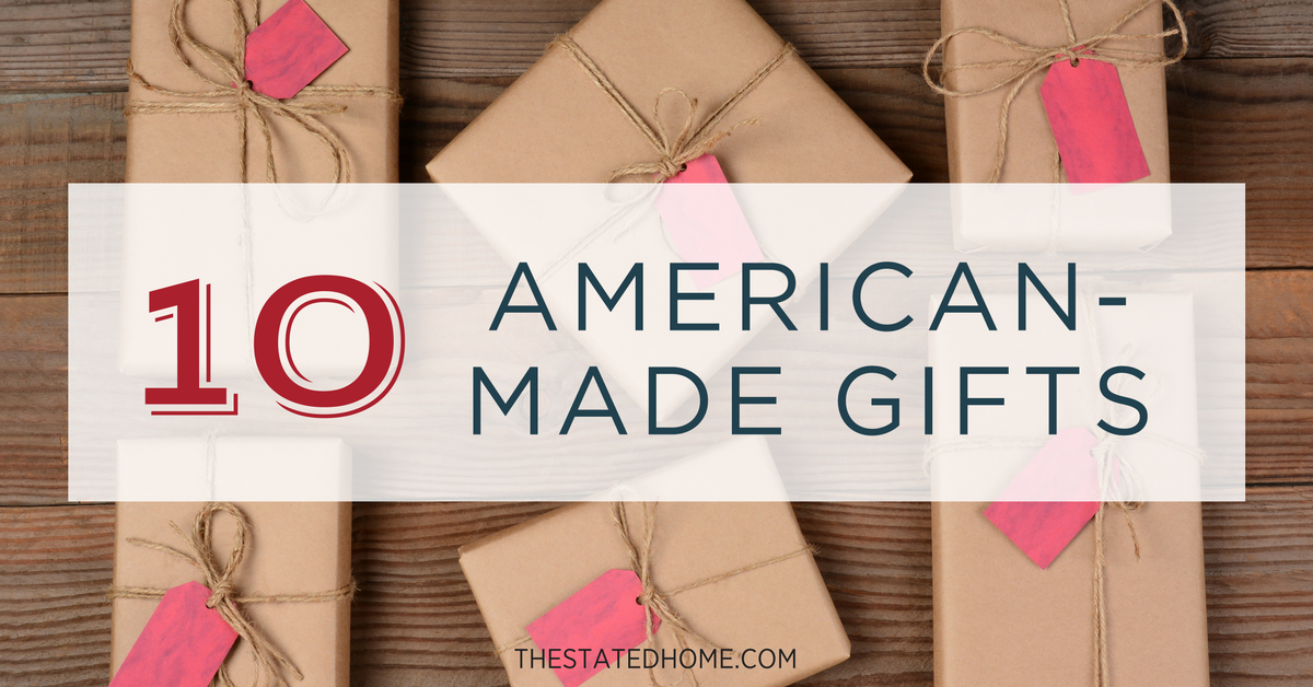 Made-in-America Gifts