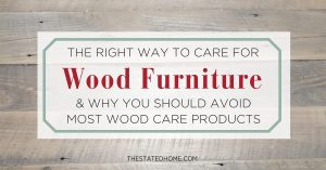 How to Clean Wood | The Stated Home
