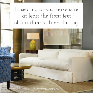 Area Rug Rules | The Stated Home