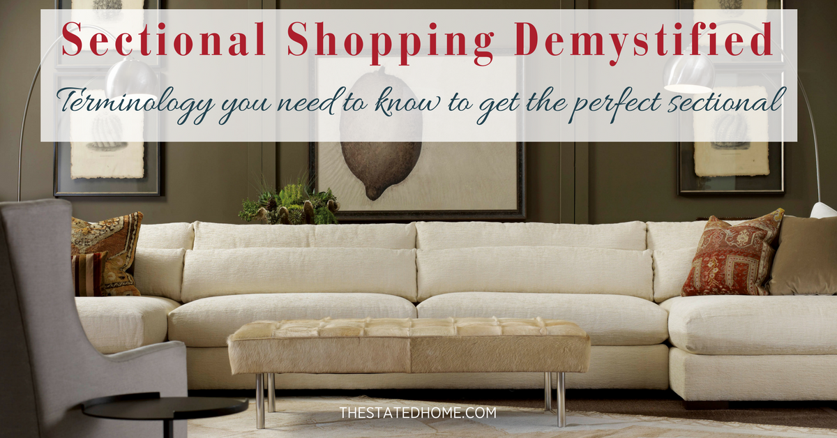 Sectional Sofa Pieces: What Do They All Mean? | The Stated Home