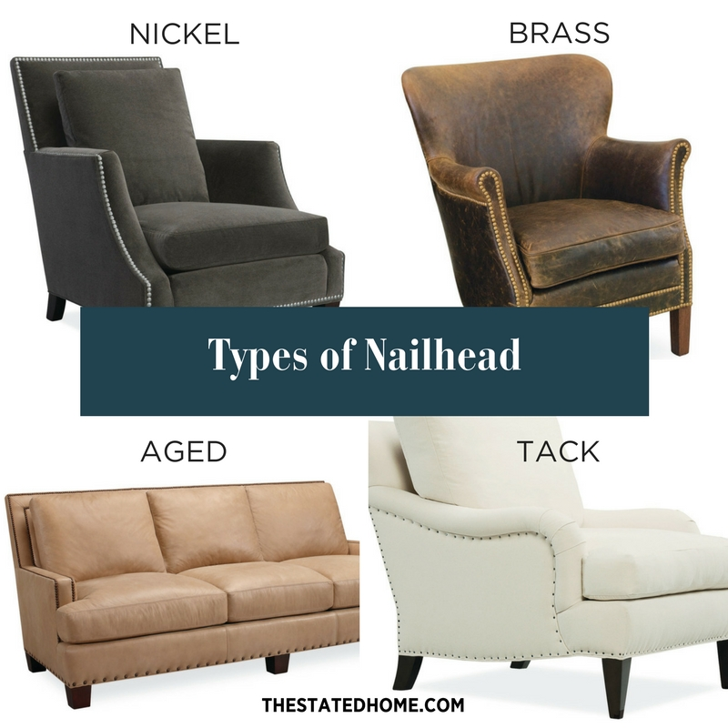 Sofa Details: Nailhead | The Stated Home
