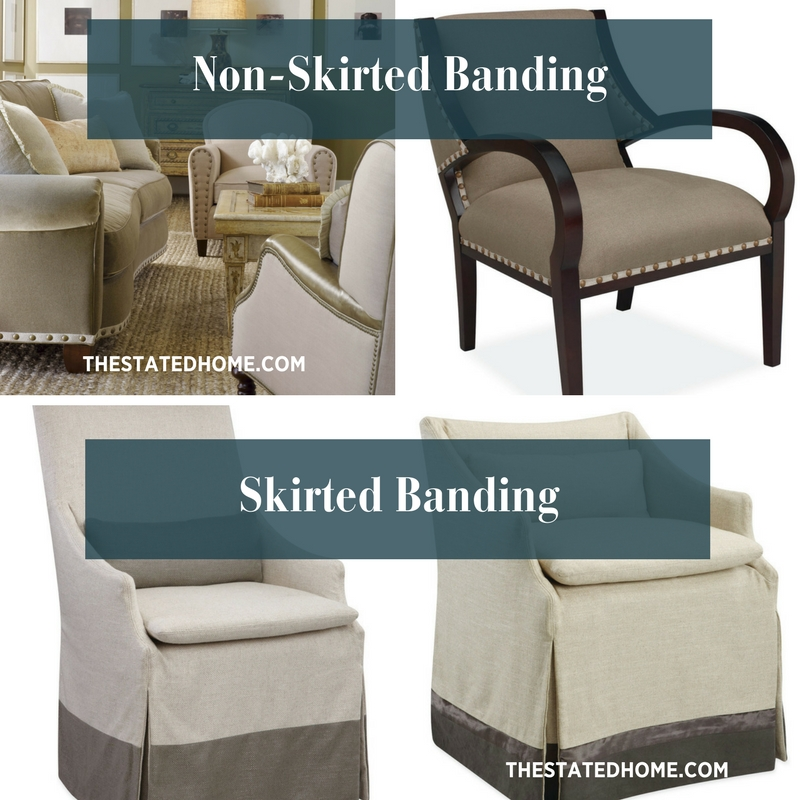 Sofa Details: Banding | The Stated Home