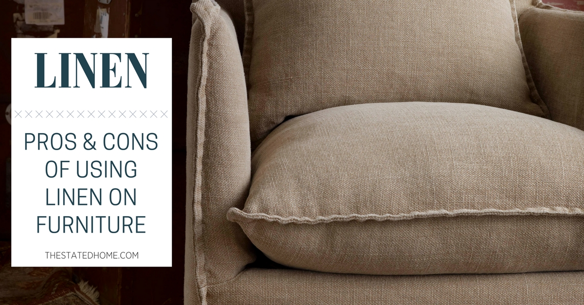 Linen Upholstery Fabric | The Stated Home