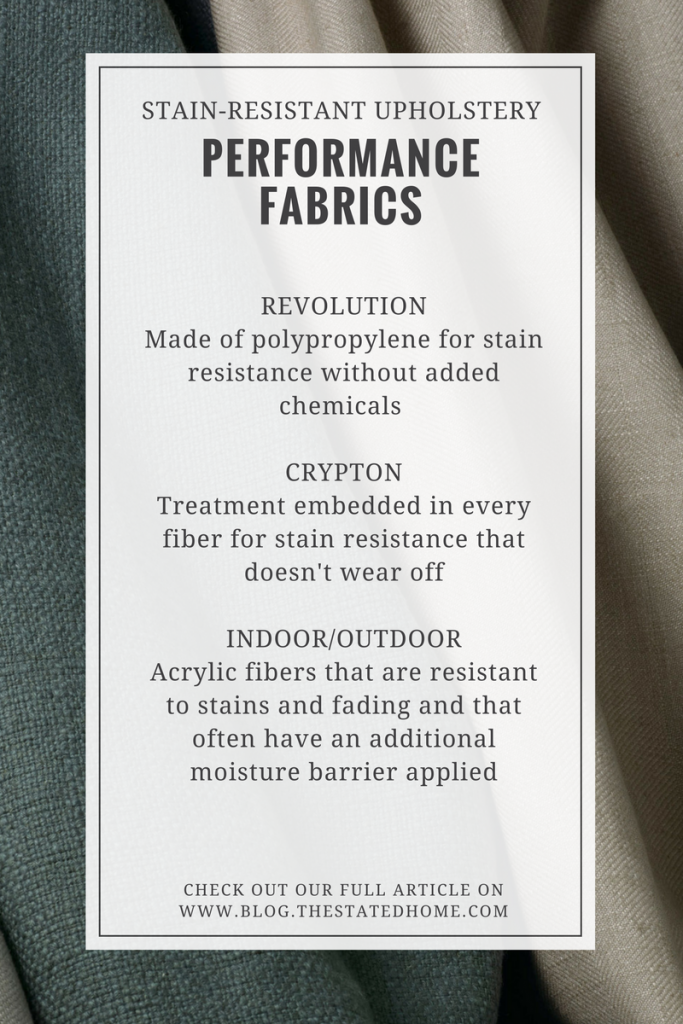 Stain-Resistant Upholstery Fabric   The Stated Home