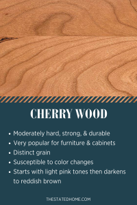 Types of Wood for Furniture: Cherry | The Stated Home