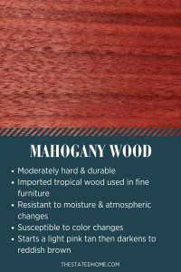 Types of Wood for Furniture: Mahogany | The Stated Home