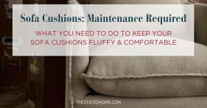 Sagging Sofa Cushions: How to Avoid Them | The Stated Home
