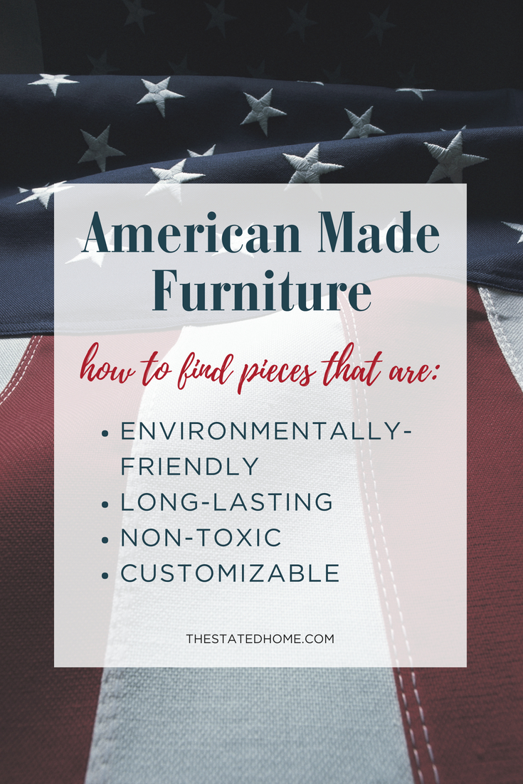 American Furniture Companies: How to Spot Them
