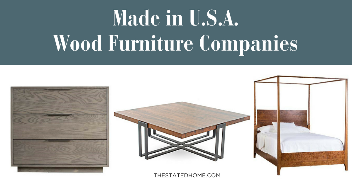 American-made Style Guide & Furniture Primer