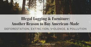 Eco-Friendly Furniture: The Truth About Logging | The Stated Home