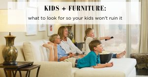 Kid-Friendly Couches | The Stated Home