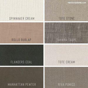 Fabric Options for Tennille Area Rug | The Stated Home