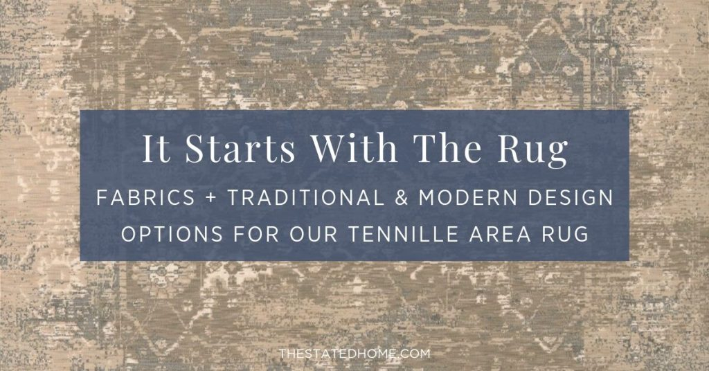 Tennille Area Rug | The Stated Home