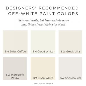 Best Off-White Paint for Walls | The Stated Home
