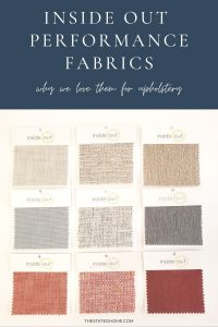 Inside Out Performance Fabric | The Stated Home